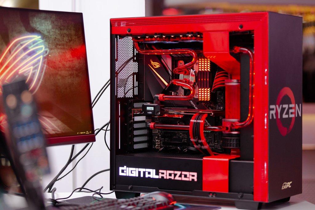 Digital Razor Black Level 2: мощный игровой компьютер на базе Core i7